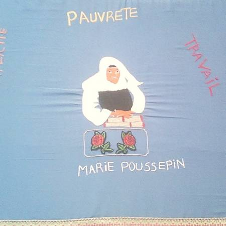 Africa greets Marie Poussepin - 2
